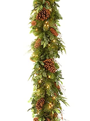 National Tree Company 6' Decorative Collection Juniper Mix Pine Garland