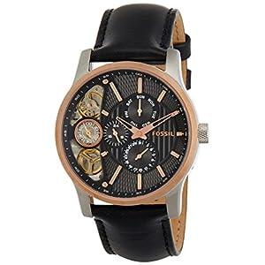 Fossil End-of-season Mechanical Twist Chronograph Black Dial Men's Watch - ME1099