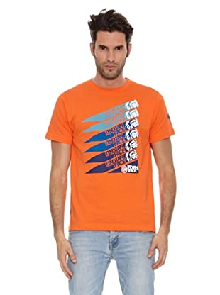 The Indian Face Camiseta Logos (Naranja)