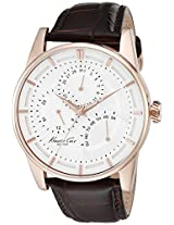 Kenneth Cole Dress Sport Analog White Dial Men's Watch - 10020815
