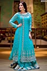 Eid Collection Anarkali Lehenga Kameez Wonderful Design Anarkali Embroidery Lehenga Kameez