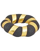 Vada kondai with Gold tape