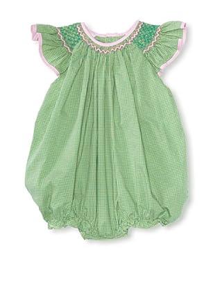 Bebe Mignon Baby Check Bubble (Green)