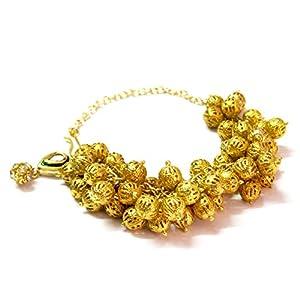 Daamak Jewellery Fascinating Gold Balls Bracelets