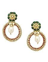 Polki With Moti Earrings_ER926-125