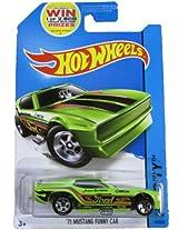 Mattel Hot Wheels 2014 Hw City 99/250 71 Mustang Funny Car (Green)