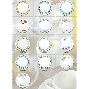 LaOpala Melody Regular Full Plate (248mm) 6pc set