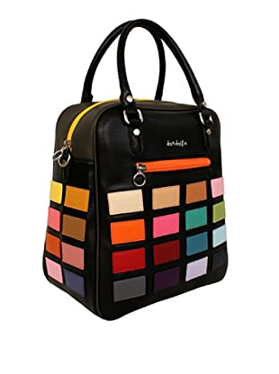 Davidelfín Bolso David Bag (Negro / Multicolor)