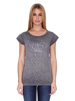 Pepe Jeans London Camiseta Forties (Plata)