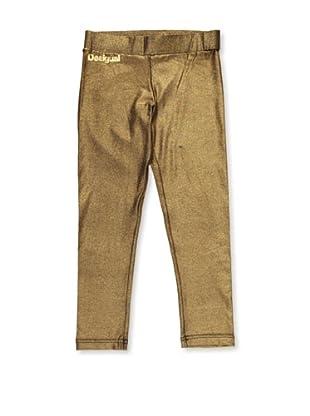 Desigual Legging Cobaya (Oro)