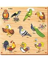 Kinder Creative-KCS-04-10 Birds with Knobs(Multicolour)