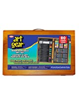 Ideal 80-Piece Deluxe Wood Art Set