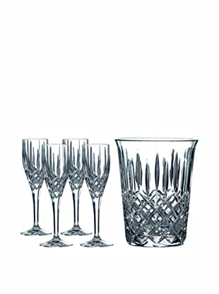 Royal Doulton Champagne Set with Ice Bucket & Set of 4 Flutes