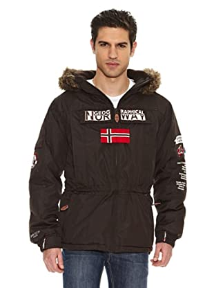 Geographical Norway Parka Ariel (Marrón Oscuro)