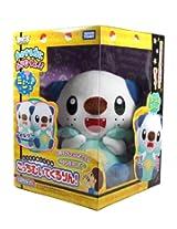 Pokemon Best Wishes Turning Talking Plush Takaratomy - Mijumaru / Oshawott