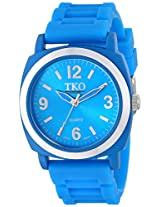 TKO ORLOGI Women's TK584-BL Milano II Unisex Blue Rubberized Case Watch