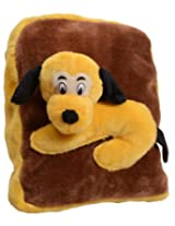 Tickles DOG SHOULDER BAG Soft Toy Plush Kids Birthday Gift 33 cm