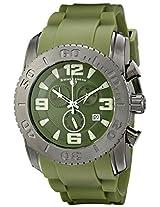 Swiss Legend Men's 10067-GM-017 Commander Analog Display Swiss Quartz Green Watch