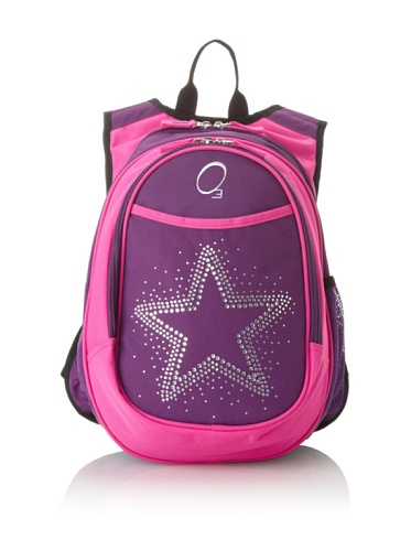 O3 Kid's All-in-One Backpack with Integrated Cooler (Rhinestone Star)