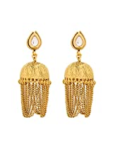 Traditional Ethnic Wear Gold Plated Jhumar Earrings for Women ER-1468