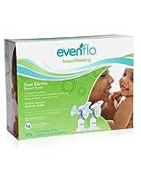 Evenflo Dual Electric Breast Pump (White)
