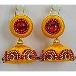 Yellow Traditional Earring