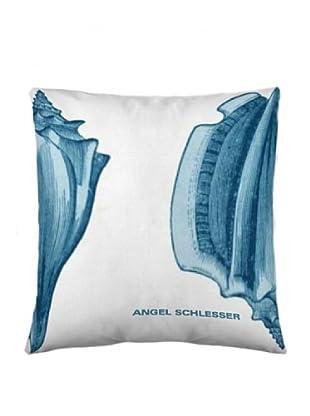 Angel Schlesser Funda De Cojín Shell (Azul)