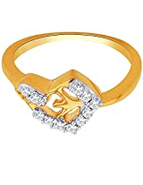 Sangini 18k Yellow Gold and Diamond Ring