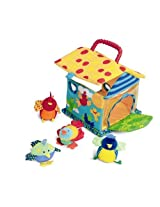 Manhattan Toy Put and Peek Birdhouse, Multi Color