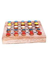 MindSapling Super Five Wooden Game
