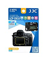 JJC LCP-D810 2KITS LCD Guard Film Camera Screen Display Protector Cover for Nikon D810