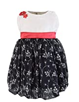 Faye Black & Cream Velvet Dress 12-18 Months