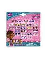 WeGlow International Doc McStuffins Stickers Earrings (72 Pairs Total)