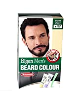 Bigen Men's Beard Color, Brownish Black B102 100g