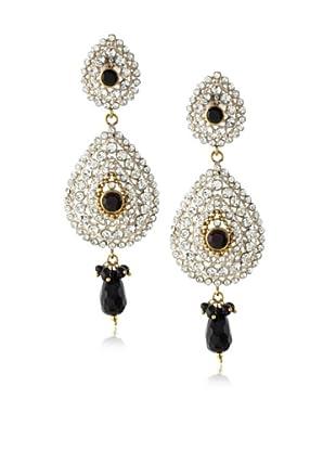 Rosena Sammi Double Crystal Drop Earrings