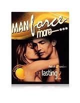 Manforce Staylong Condom - 10 Pieces (Pack of 3, Orange)