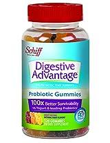 Schiff Digestive Advantage Probiotic Gummies, 120 Count