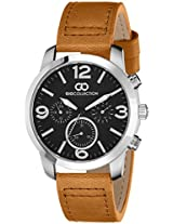 Gio Collection Analog Black Dial Men's Watch - G1009-02