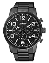 Citizen Analog Black Dial Mens Watch-AN8055-57E