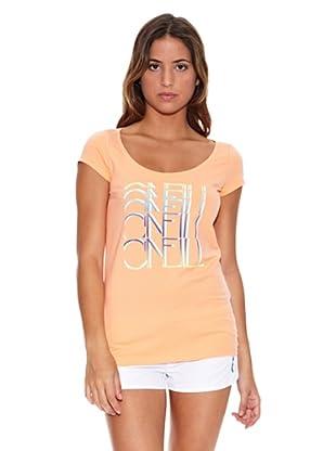 O´Neill T-Shirt Lw Nina S/Slv T (Pfirsich)