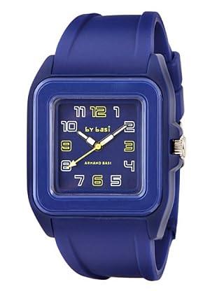 BY BASI A0851U03 - Reloj Unisex movi cuarzo correa policarbonato azul