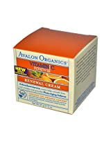 Avalon - Avalon Organics Renewal Facial Cream Vitamin C - 2 oz