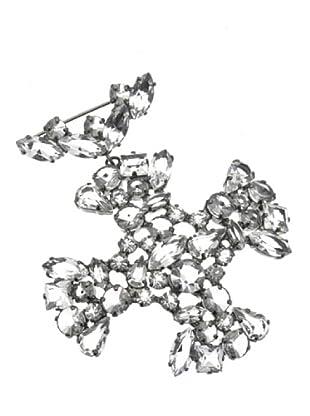 Furla Broche Croce Audrey transparente