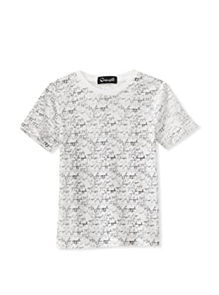 A for Apple Rat T-Shirt with A For Apple Script (White)