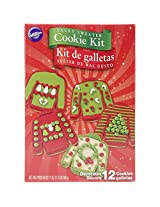 Wilton 2104-1927 12 Count Tacky Sweater Cookie Kit