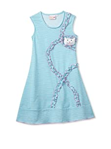 4EverPrincess Girl's Sally Dress (Blue)