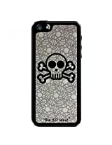 The 3D iDea iPhone 5 Hard Case TPU/PC Scull