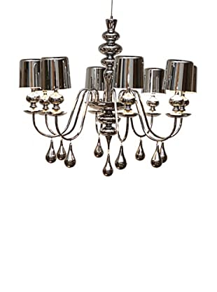 Arttex Lighting Vienne Pendant Light, Silver, Medium