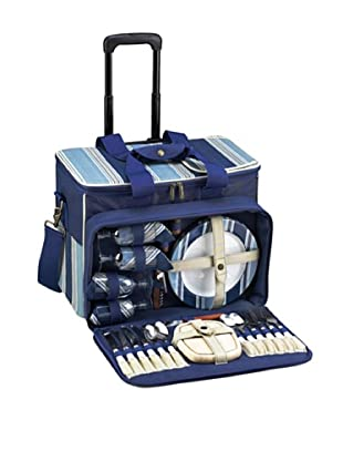 Picnic at Ascot Aegean Cooler on Wheels, 4 Person