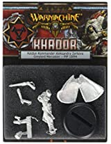 Privateer Press - Warmachine - Khador Kommander Aleksandra Zerkova Model Kit
